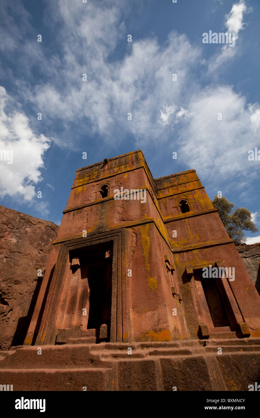 Christian Church of St George, Lalibela ,Ethiopia,Africa - Stock Image