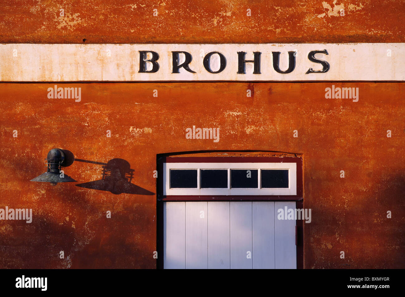 Brohus / Bridge House, Kronborg Castle, Helsingør, Zealand, Denmark - Stock Image