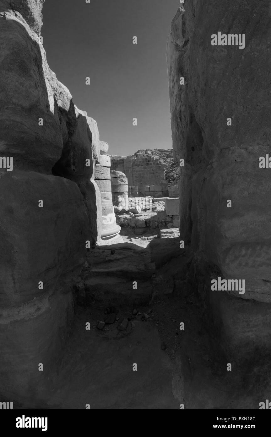 Petra, Royal Kingdom of Jordan - Stock Image