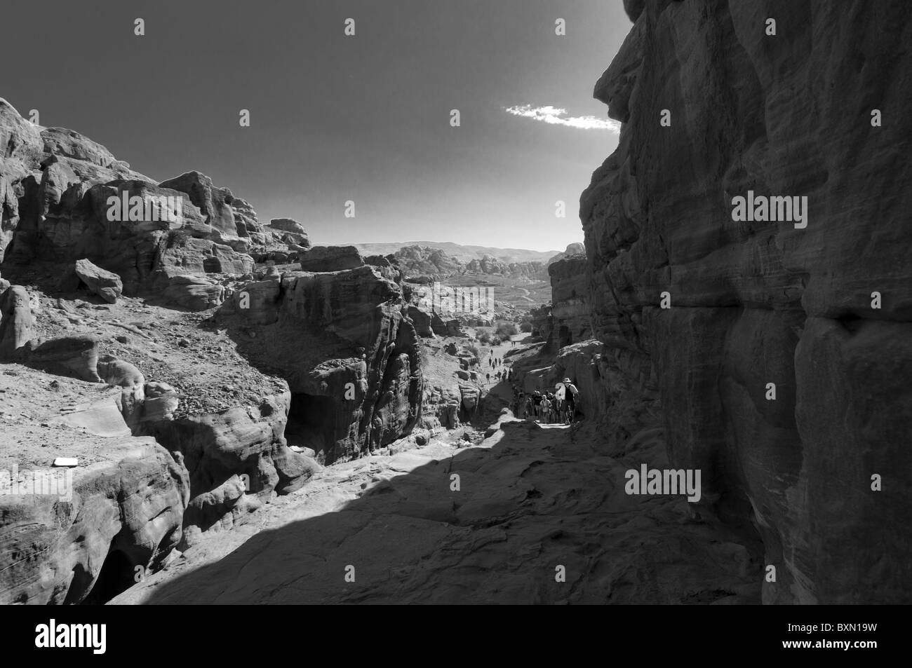 Petra Royal Kingdom of Jordan - Stock Image