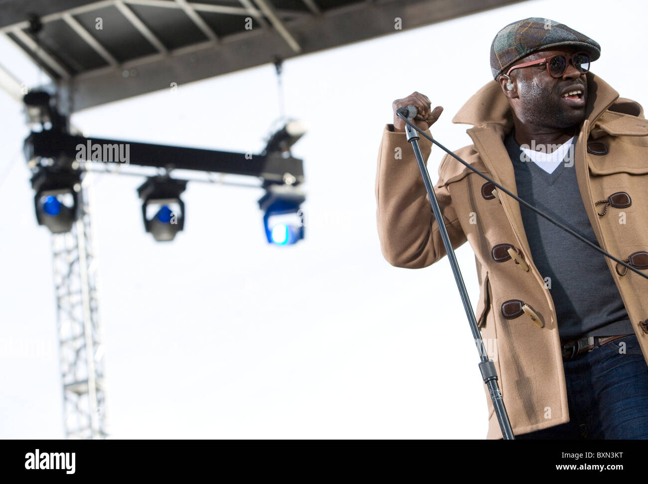 Tariq 'Black Thought' Trotter of the Roots at the Rally to Restore Sanity And/Or Fear. - Stock Image