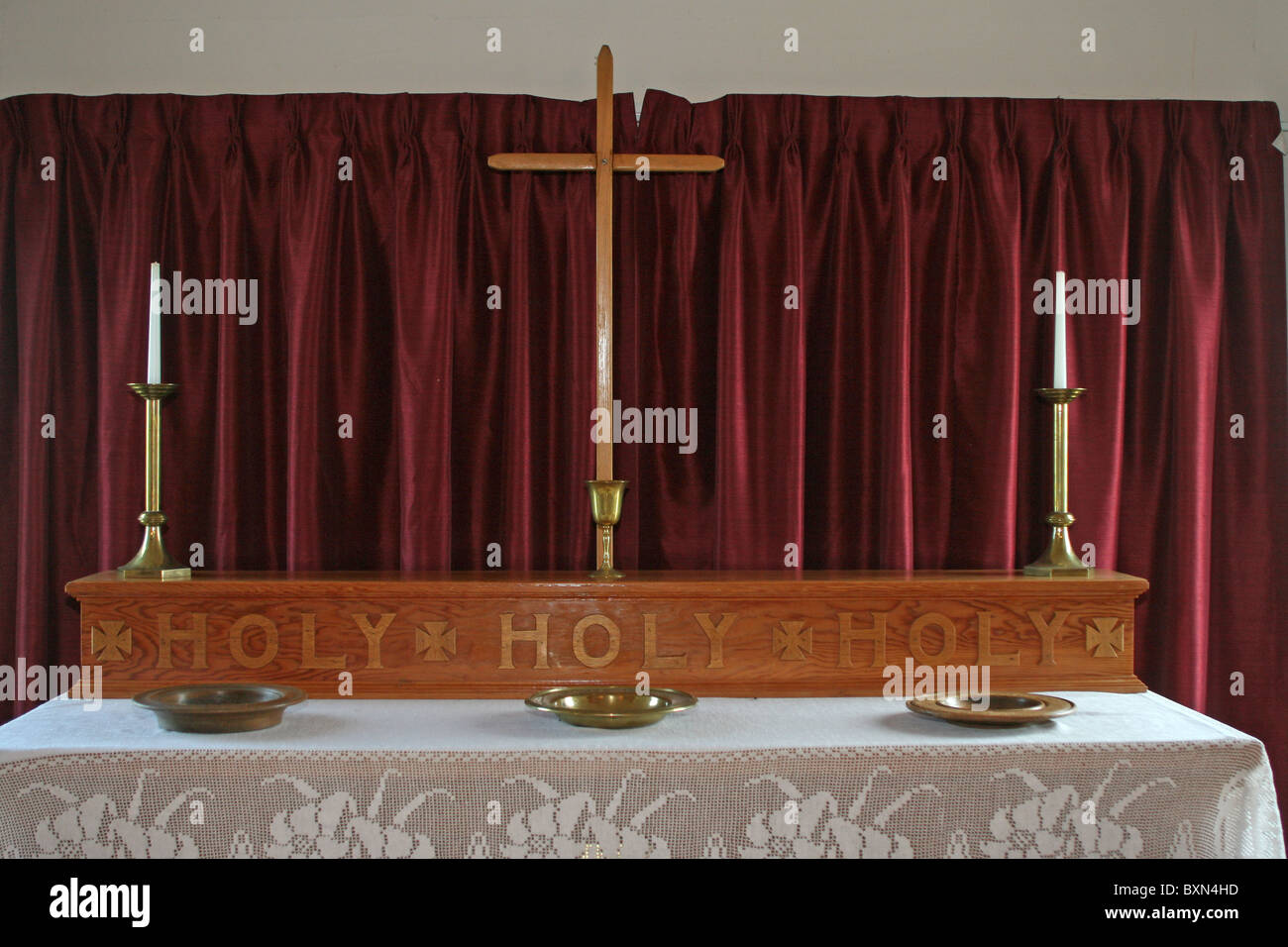Little country church - Stock Image