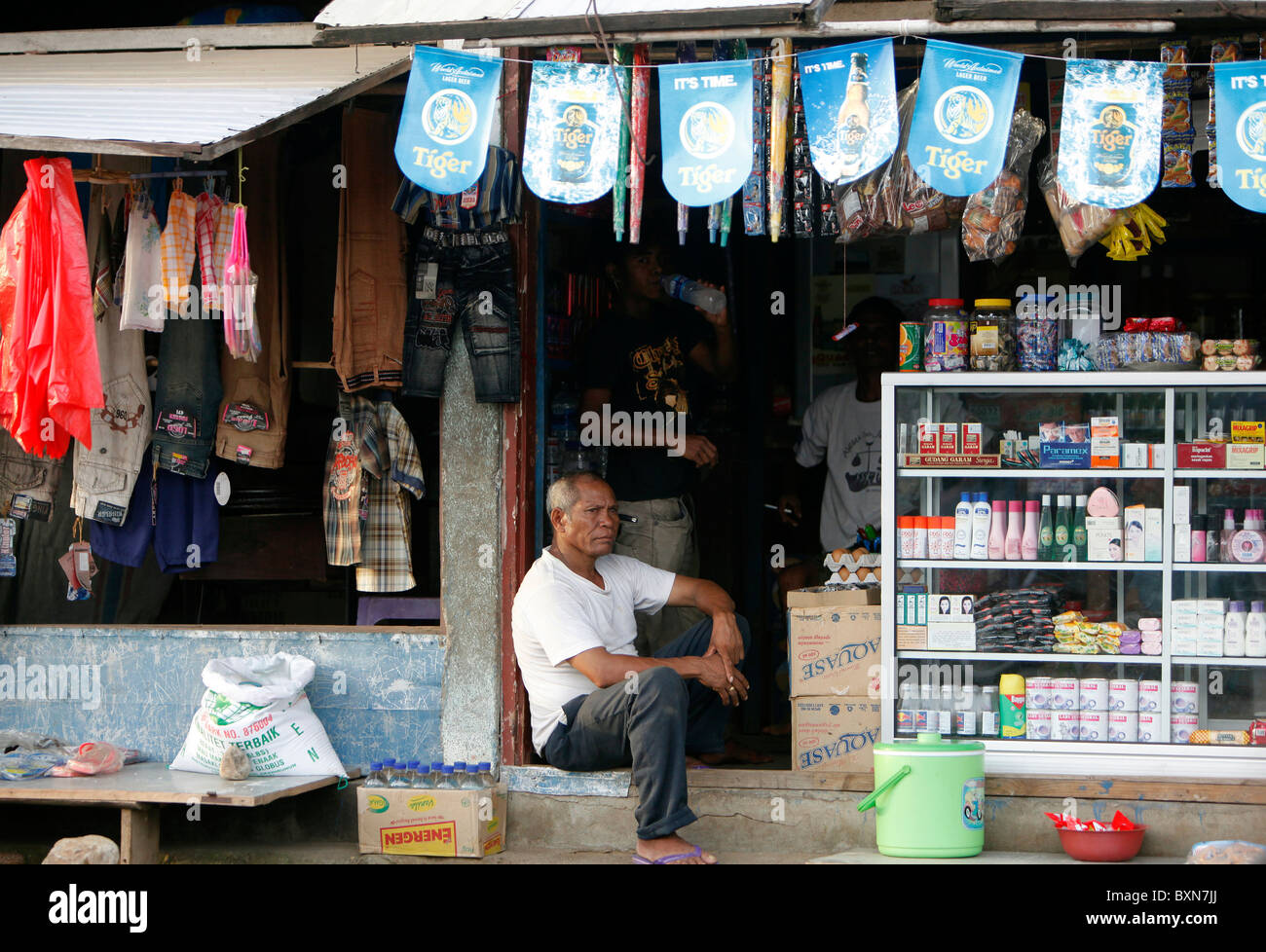 Shop in Suai, Timor Leste (East Timor) Stock Photo