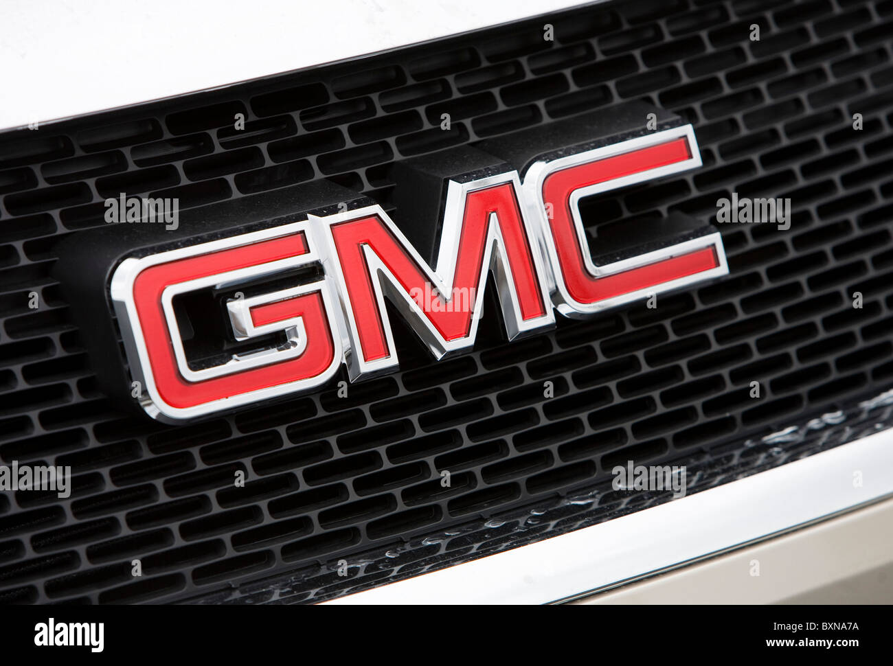 A General Motors dealer lot.  - Stock Image
