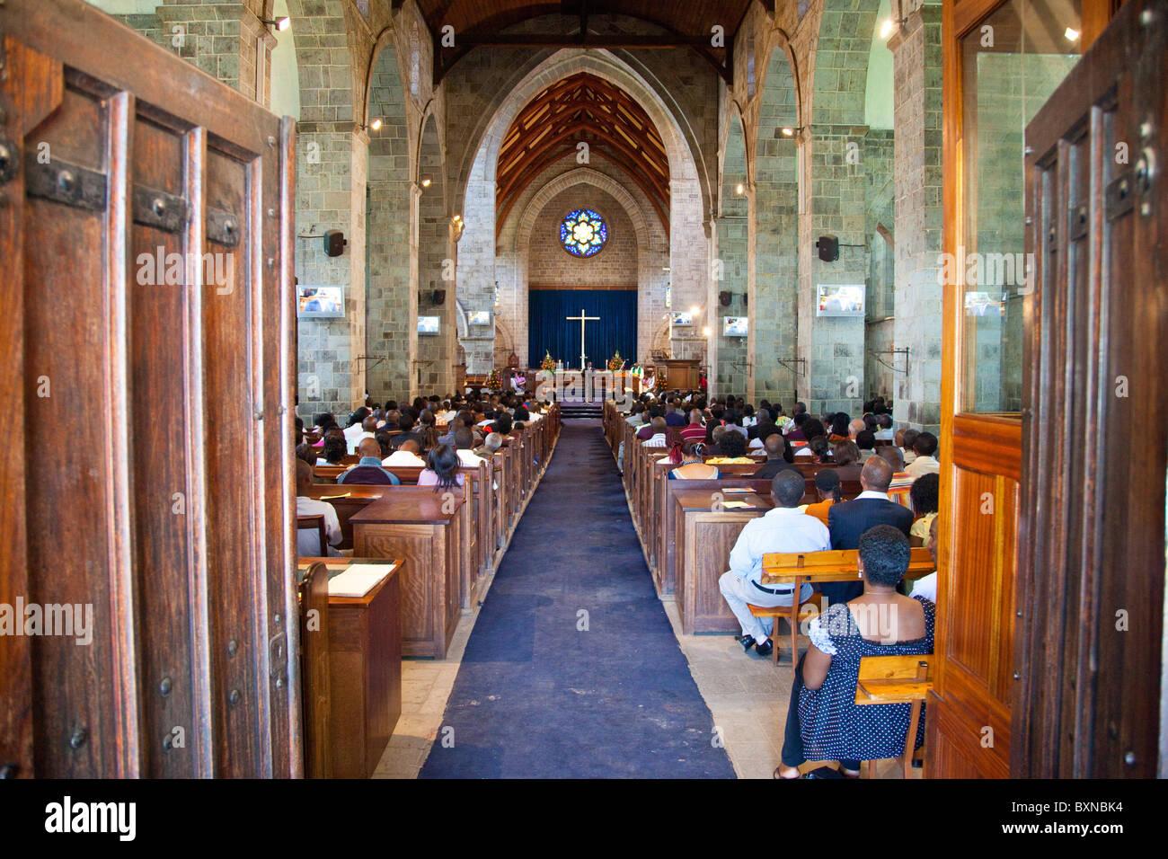 All Saints Cathedral, Anglican Church of Kenya, Nairobi, Kenya - Stock Image
