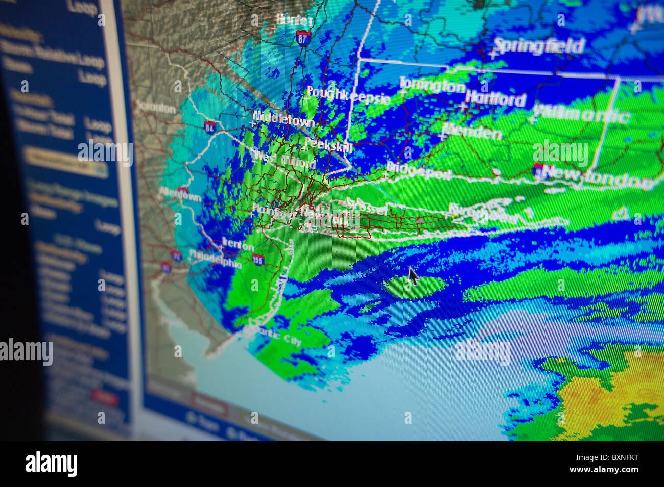 Weather Radar Map Stock Photos & Weather Radar Map Stock