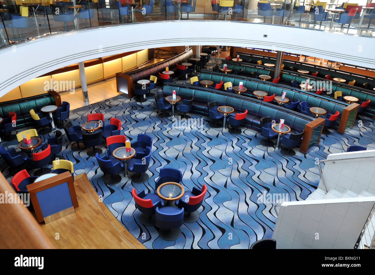Main Lounge Area Brittany Ferry Pont Aven Brittany Ferries
