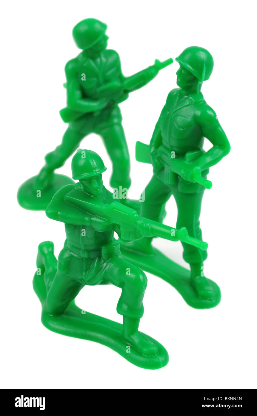 Toy soldiers, toy soldier - Stock Image