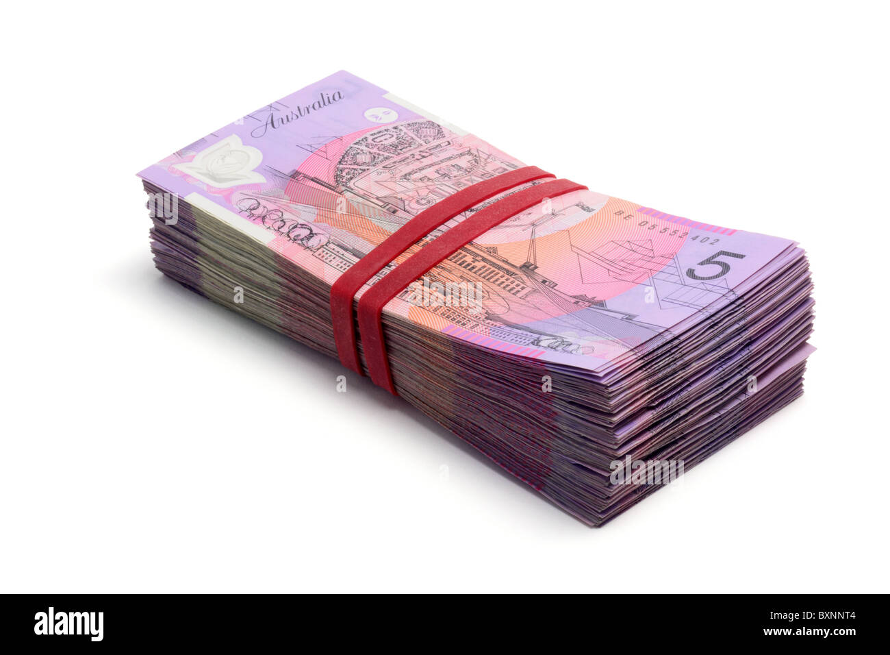 Bank Notes - Stock Image