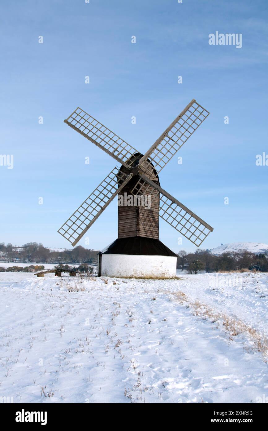 Pitstone Windmill - Buckinghamshire - Stock Image
