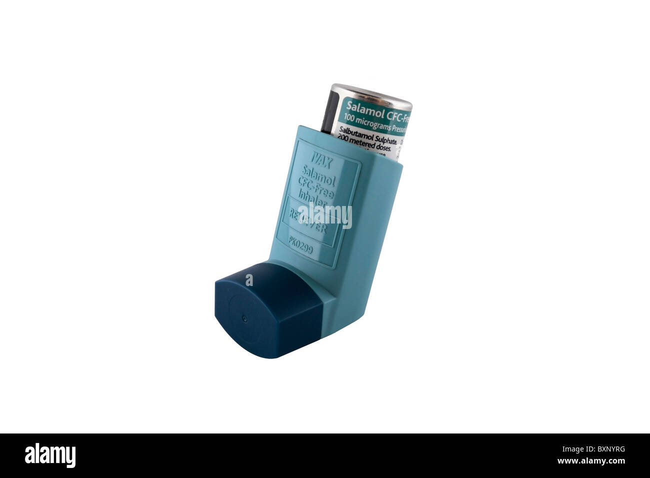 IVAX Salamol inhaler reliever - Stock Image