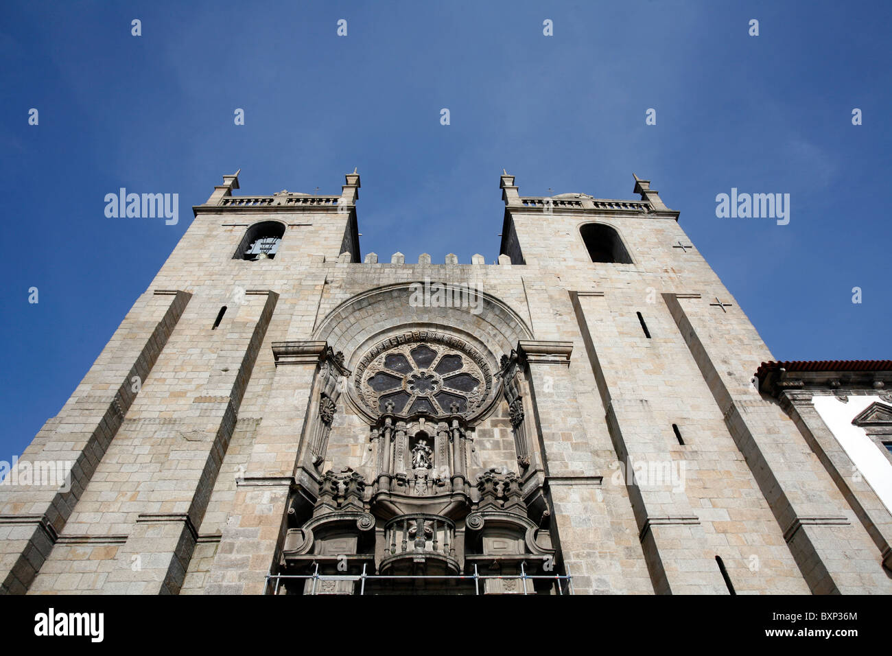 Sé cathedral, Porto - Stock Image