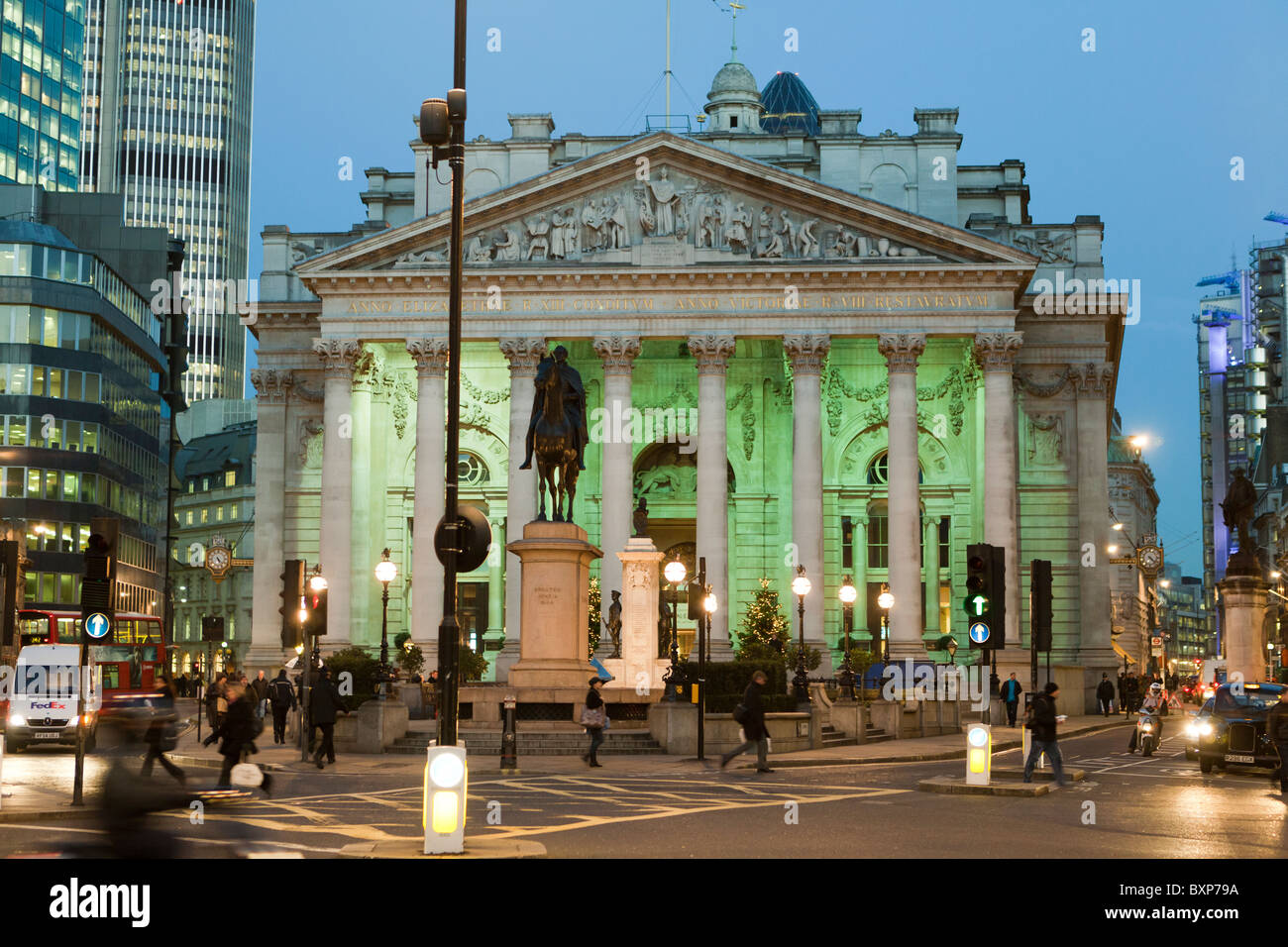 Bank Station Bank of England Museum London - Stock Image