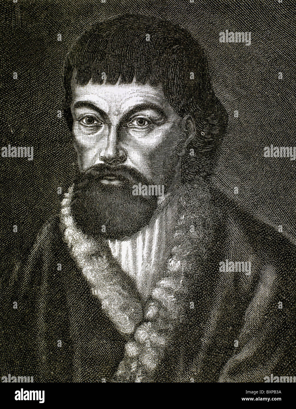 Yemelyan Pugachev (1742-1775). Pretender to the Russian throne. - Stock Image