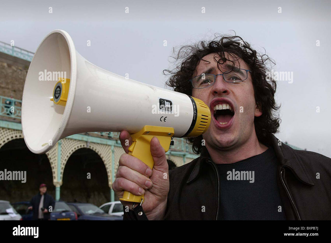 British comedian Steve Coogan. Picture by James Boardman - Stock Image