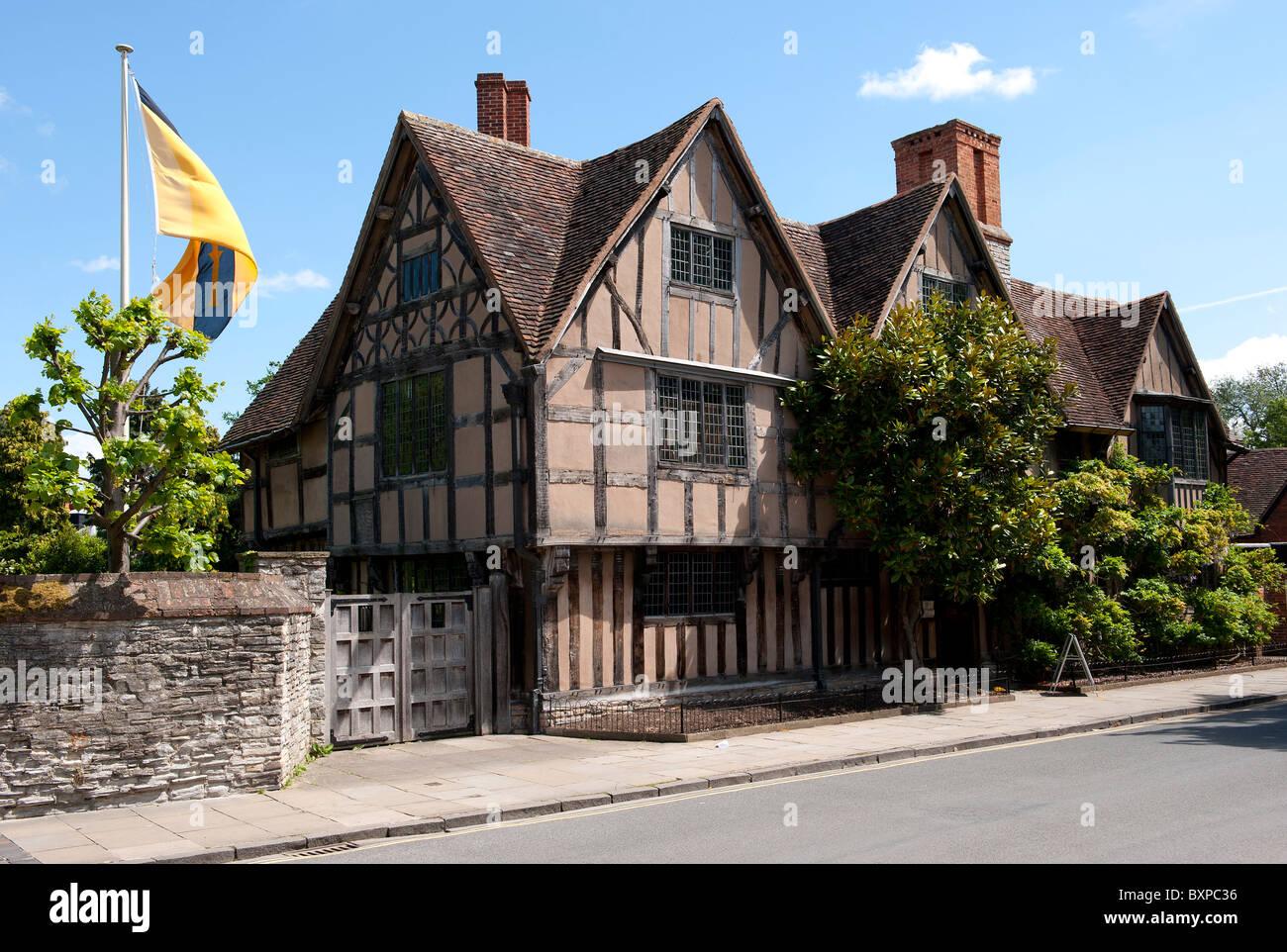 Halls Croft Stratford Upon Avon - Stock Image