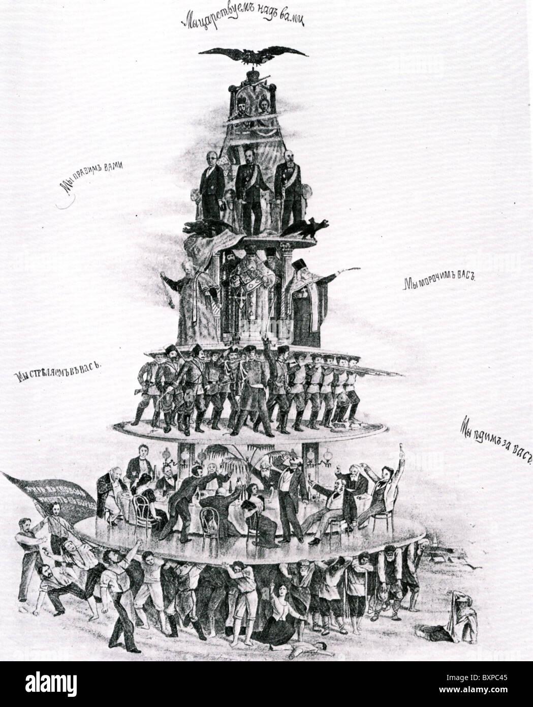 Russian Wedding Cake Cartoon