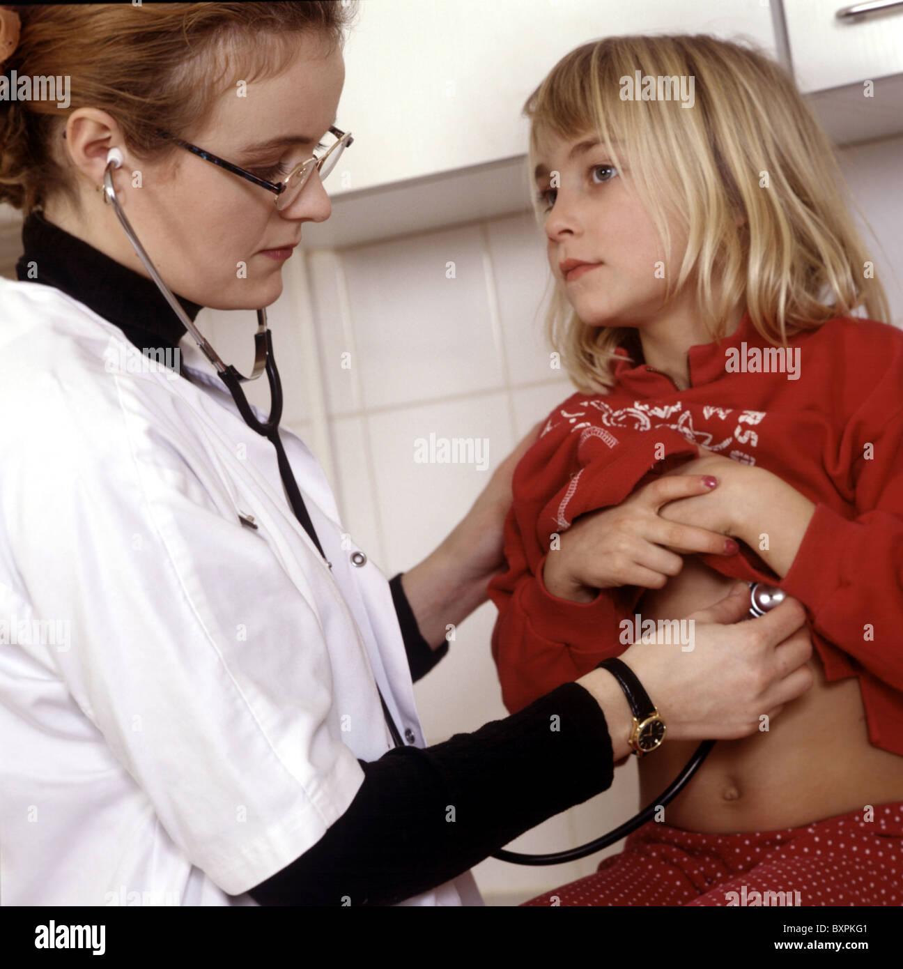 Doctors checking young girls, interracialhandjobsporn