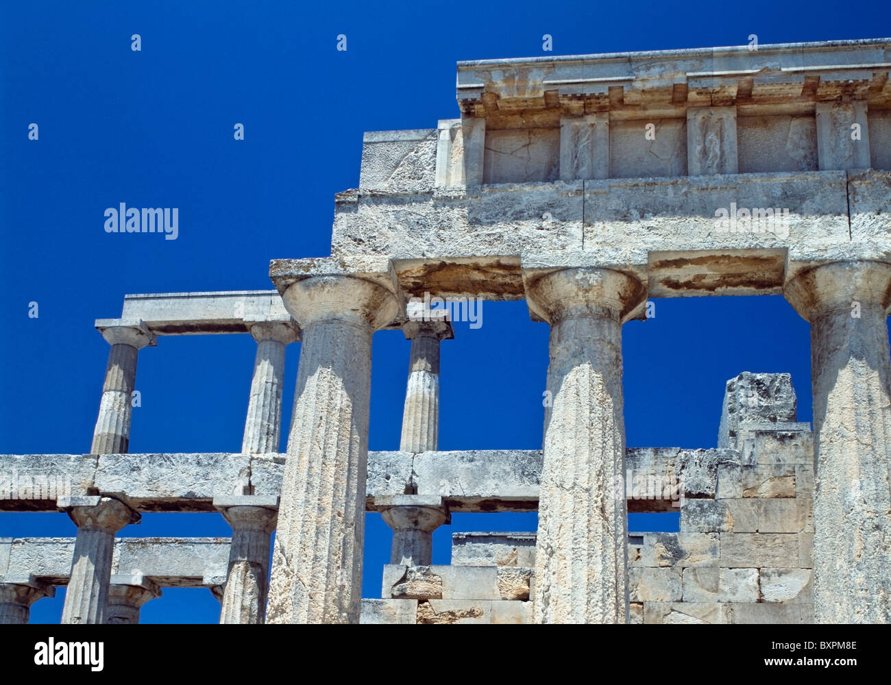 Temple Of Aphaia - Stock Image