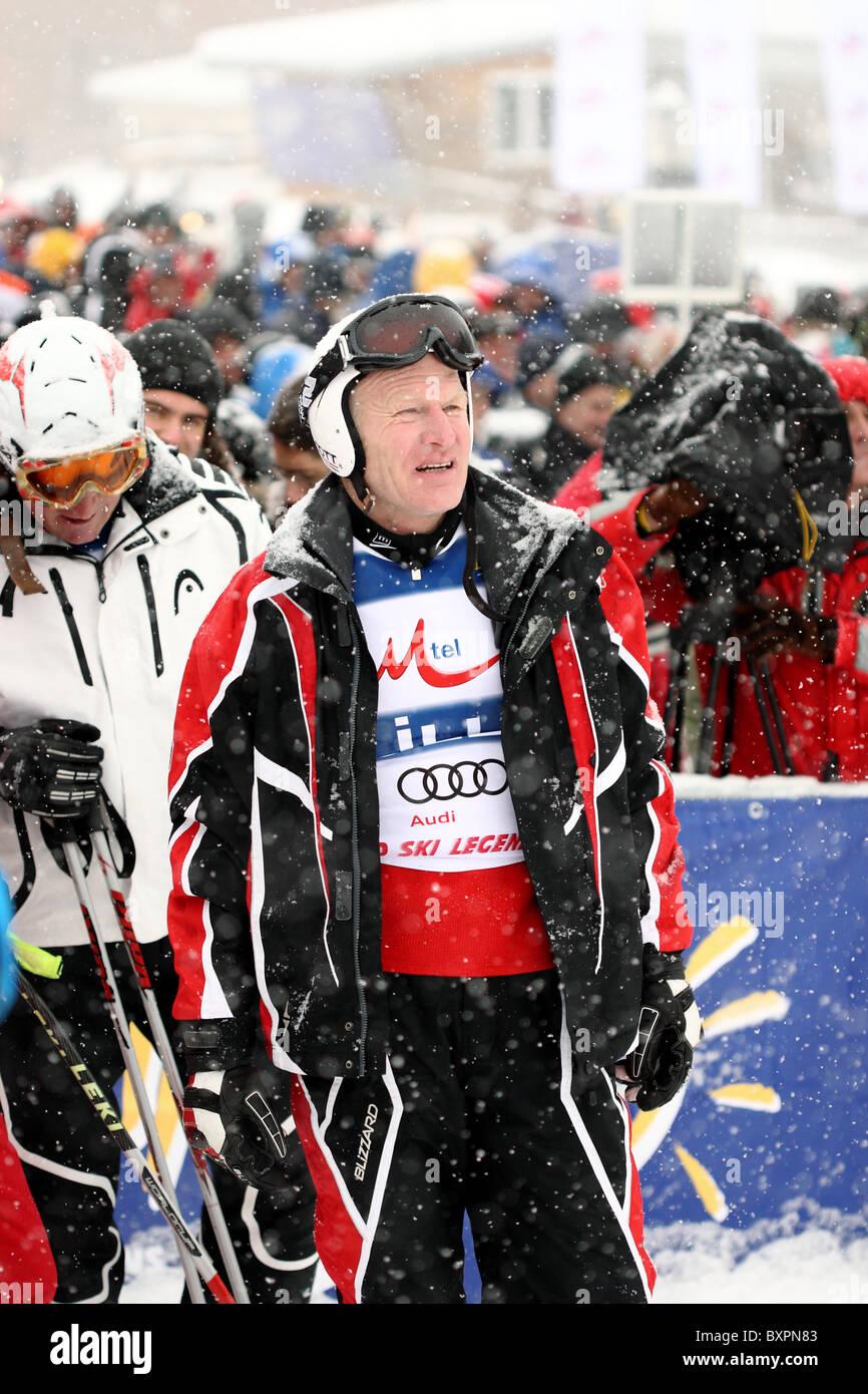 MUELLER Peter, 12.12.2009 Bansko Ski Center, Bulgaria - Stock Image
