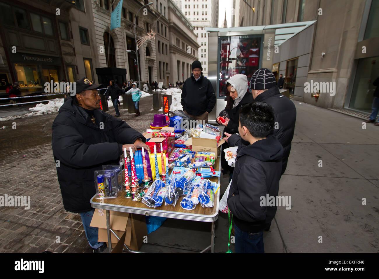 New York Street Vendor Sells Stock Photos & New York Street