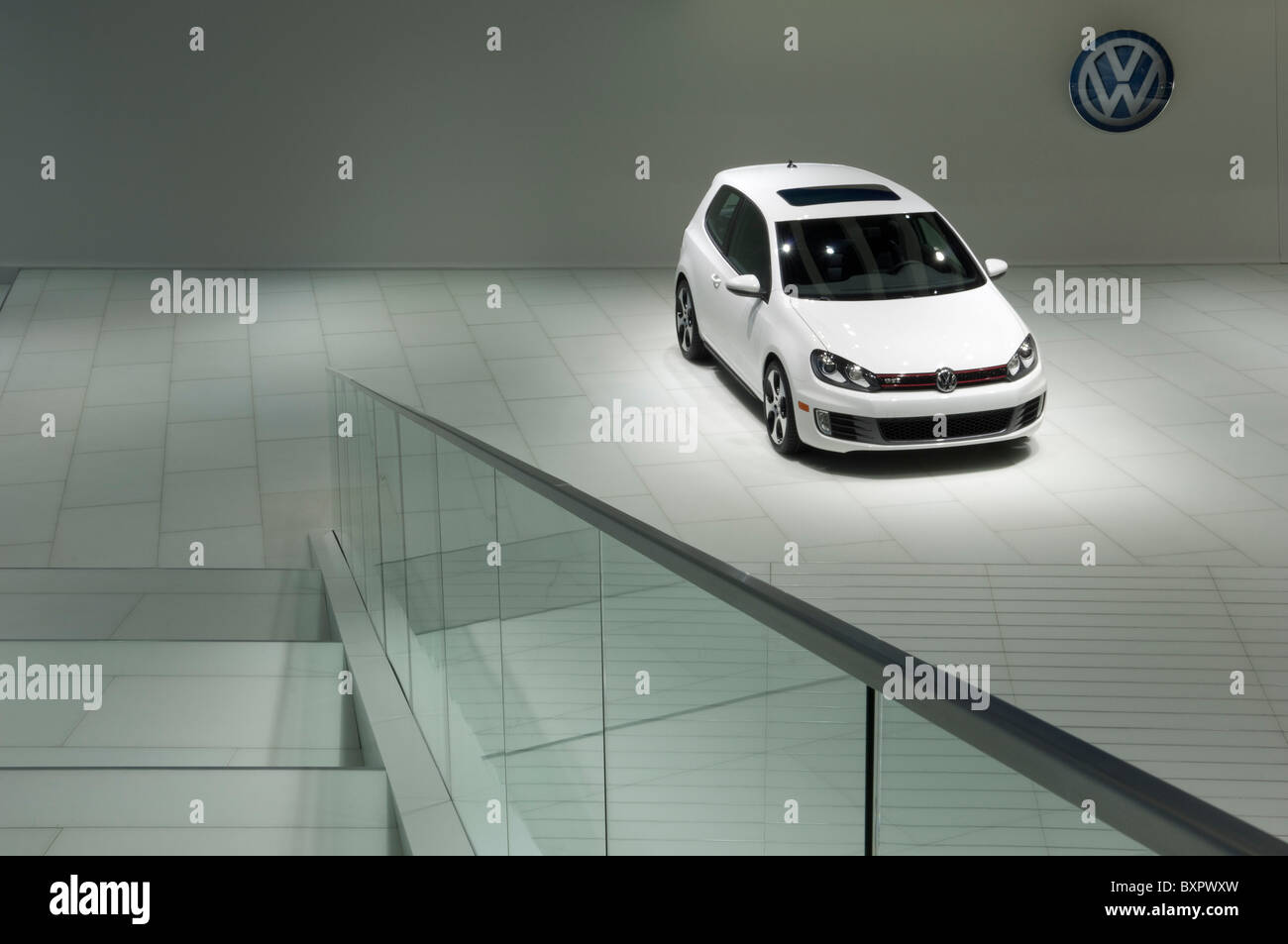 2011 Volkswagen Golf at the 2010 North American International Auto Show - Stock Image