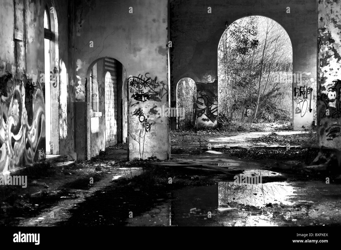 Industrial archaeology - Stock Image