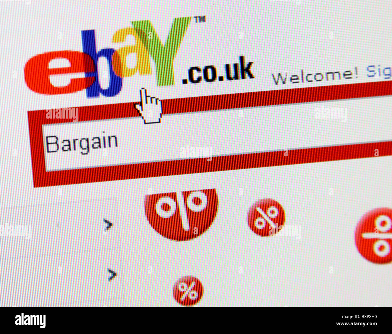Ebay Logo Stock Photo Alamy