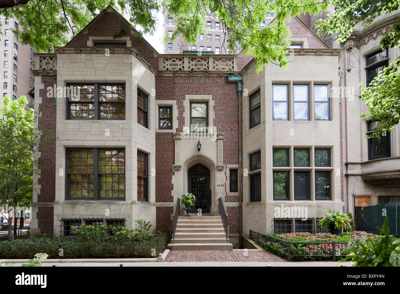 John L. Fortune House, 1451 Astor Street, Chicago, Illinois, USA
