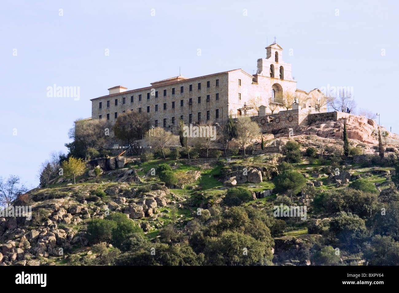 Sanctuary of the Virgen de la Cabeza, Sierra Morena, Andujar, Jaen Province, Spain. - Stock Image