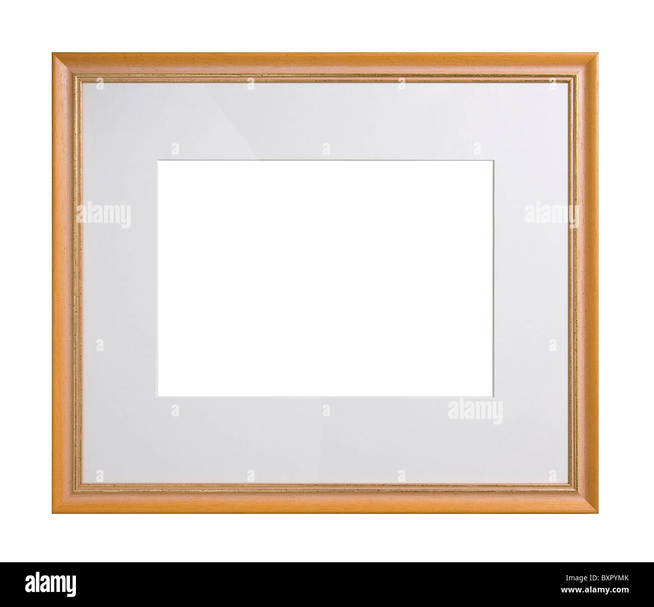 Picture Frame Cut Out Gold Stock Photos & Picture Frame Cut Out Gold ...
