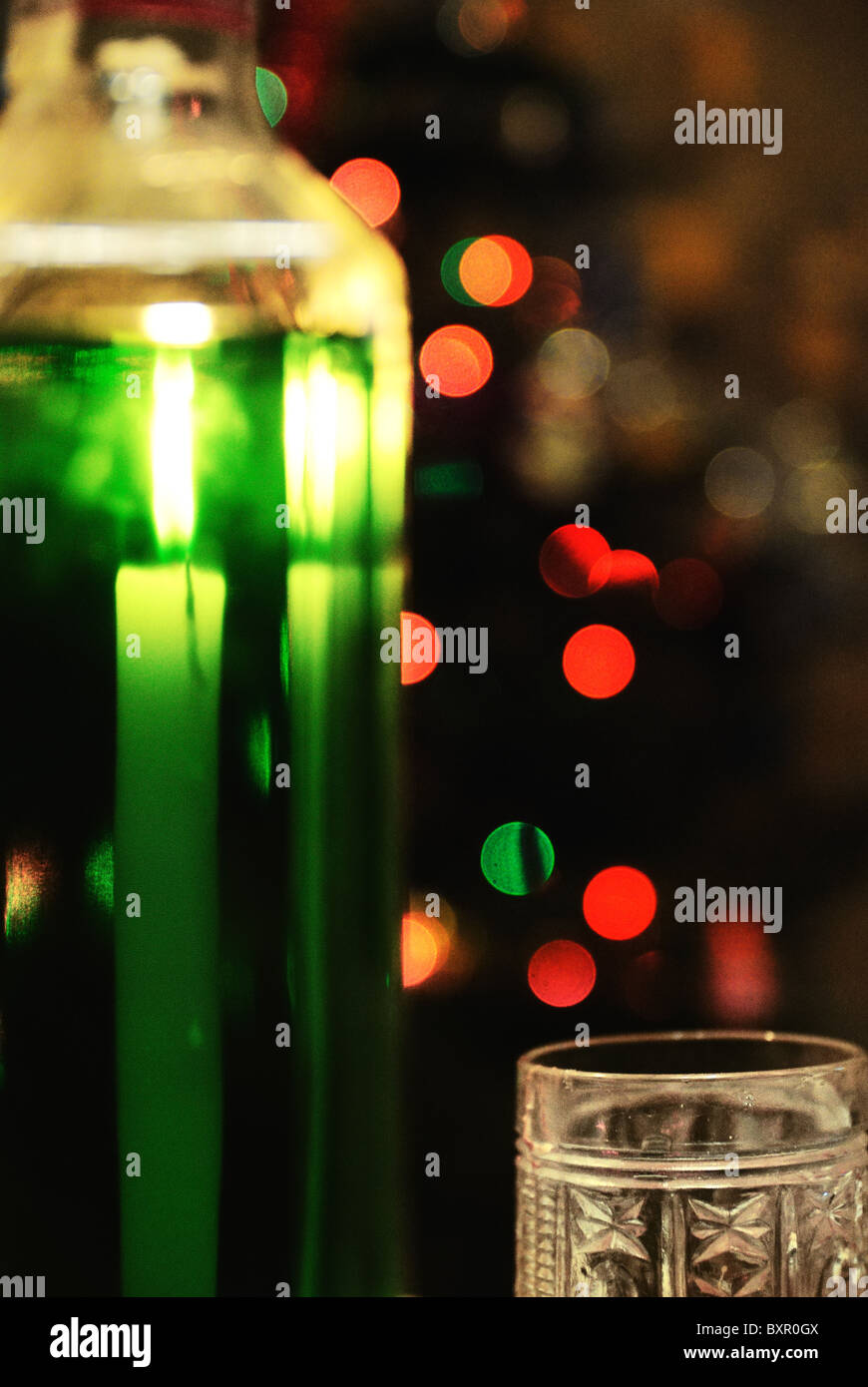 Absinthe night - Stock Image