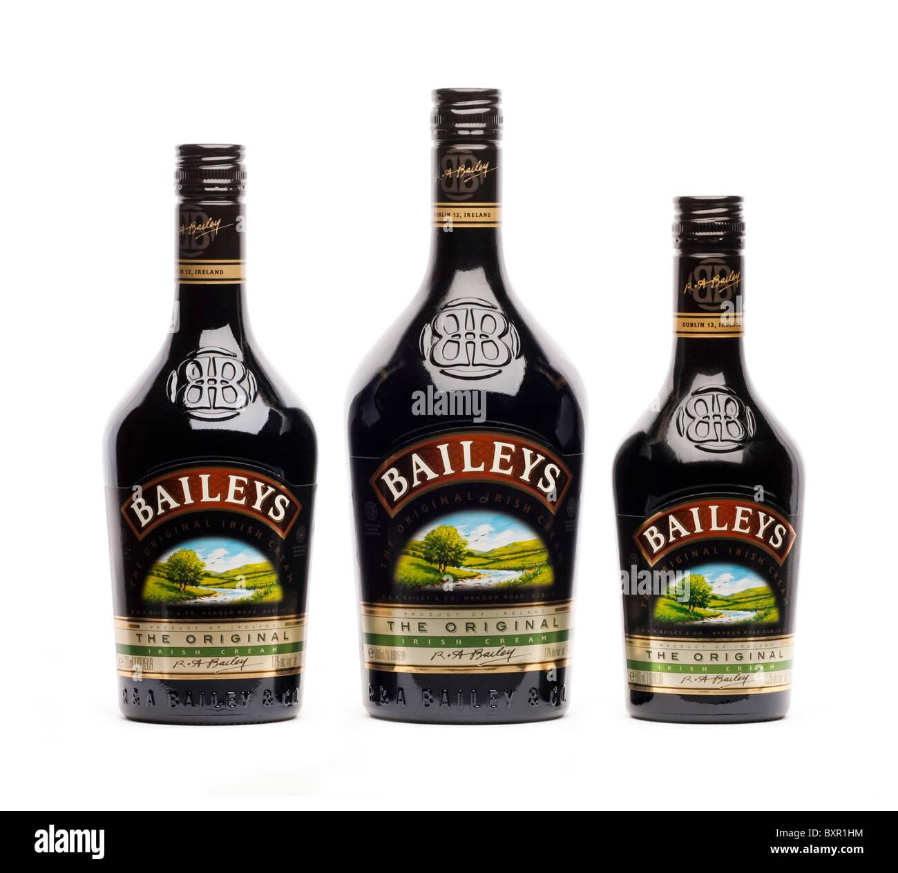 Bottle Of Baileys Irish Cream Liqueur Stock Photo