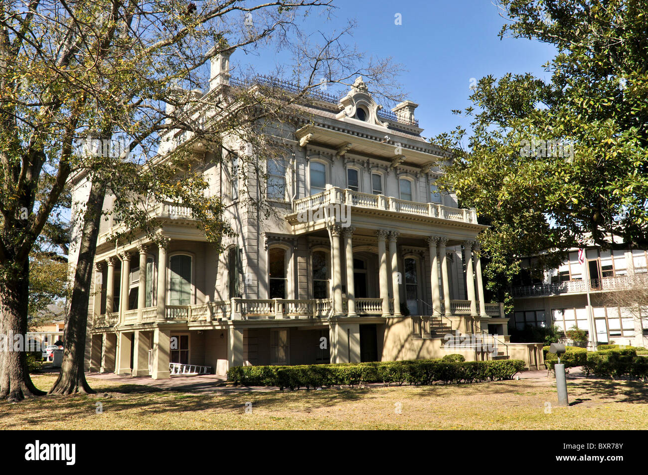 1872 Second Empire-Style Bradish Johnson House, Garden District, New ...