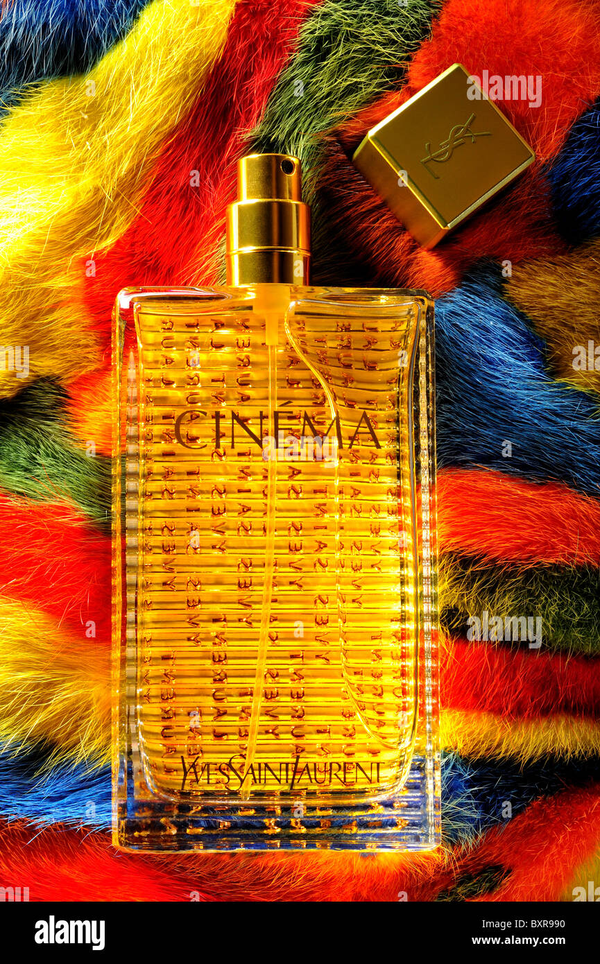 Yves Saint Laurent Perfum Bottle Cinema Womens Perfume Bottle