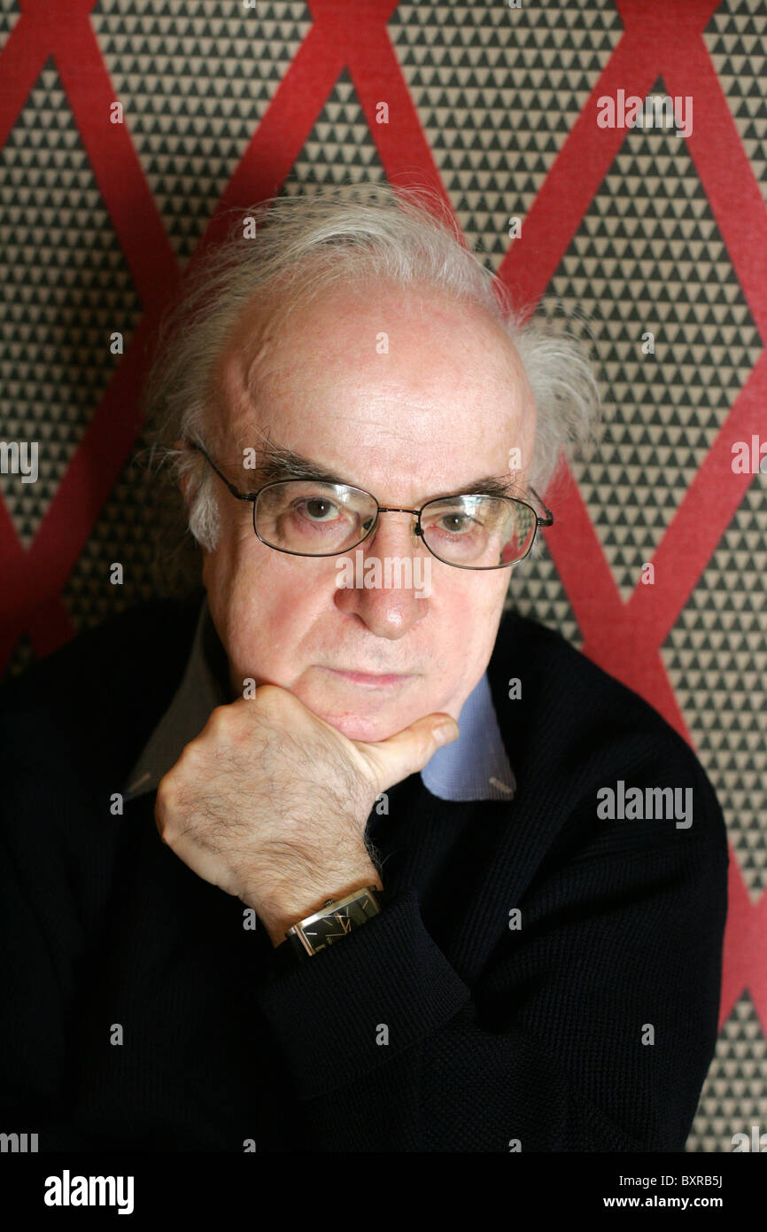 Writer Norman Manea. - Stock Image