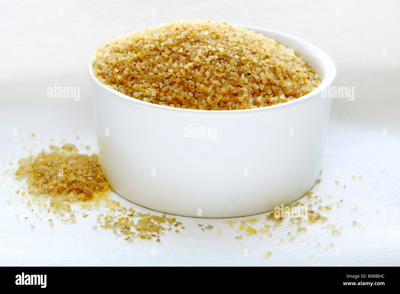 Bulgur Wheat - Stock Image