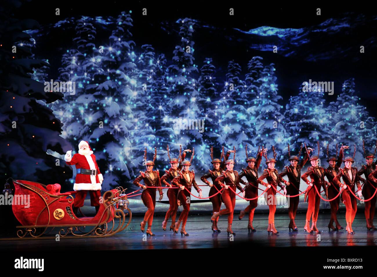 Radio City Music Hall Christmas Spectacular.Sleigh Ride Scene Radio City Music Hall Christmas