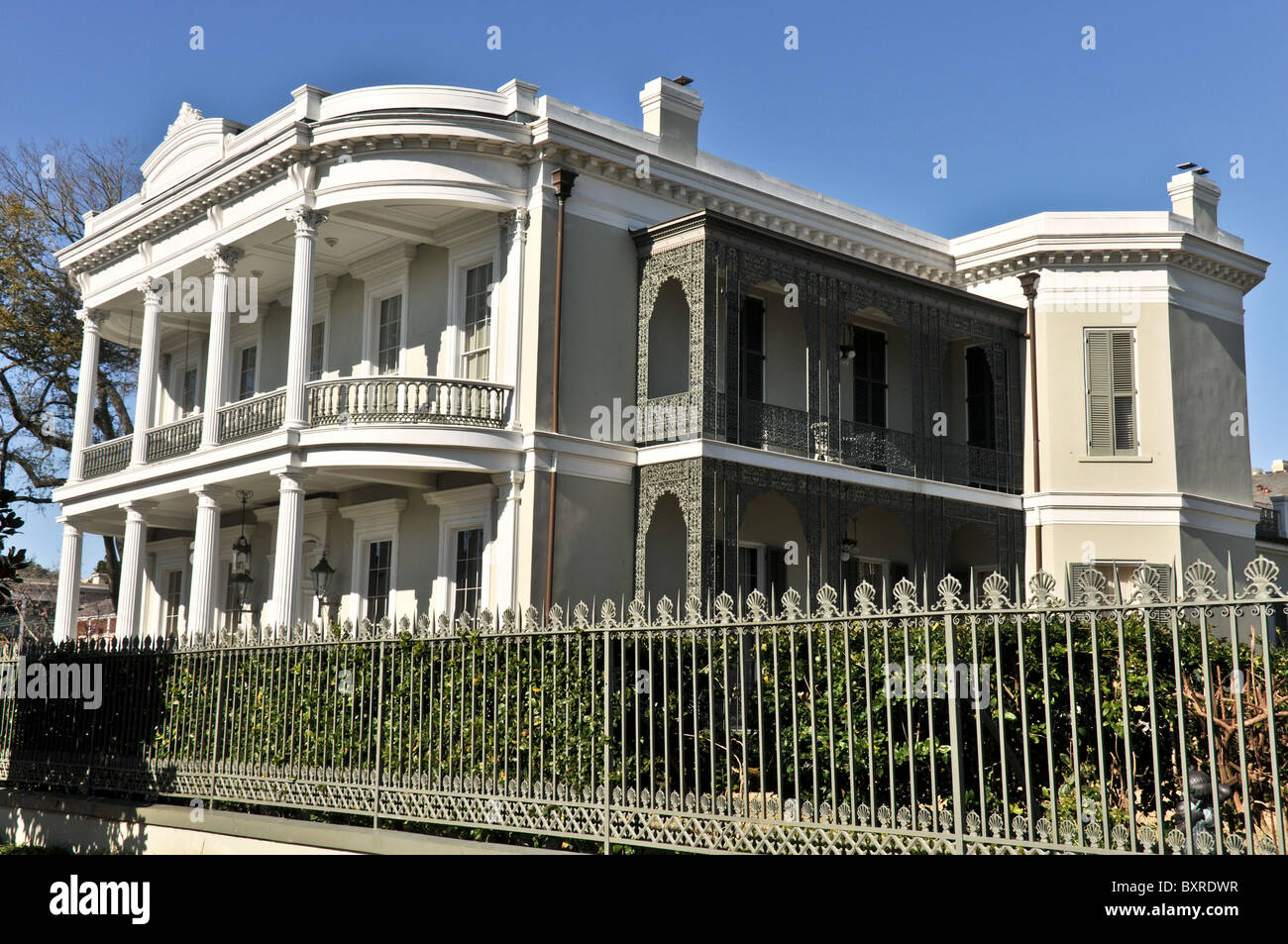 New Orleans House Tree Stock Photos Amp New Orleans House