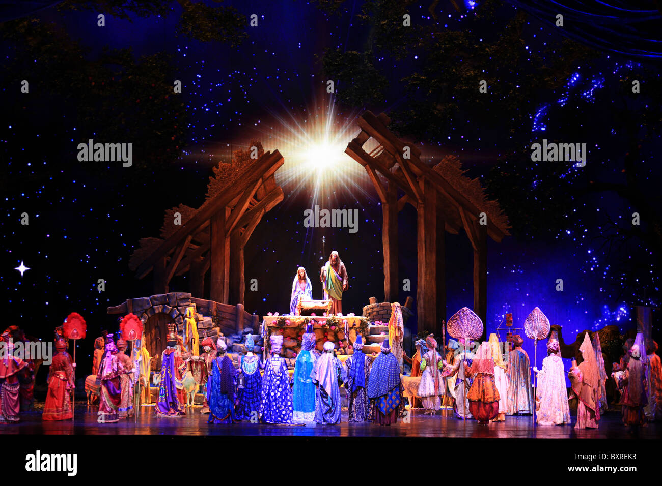The living nativity\