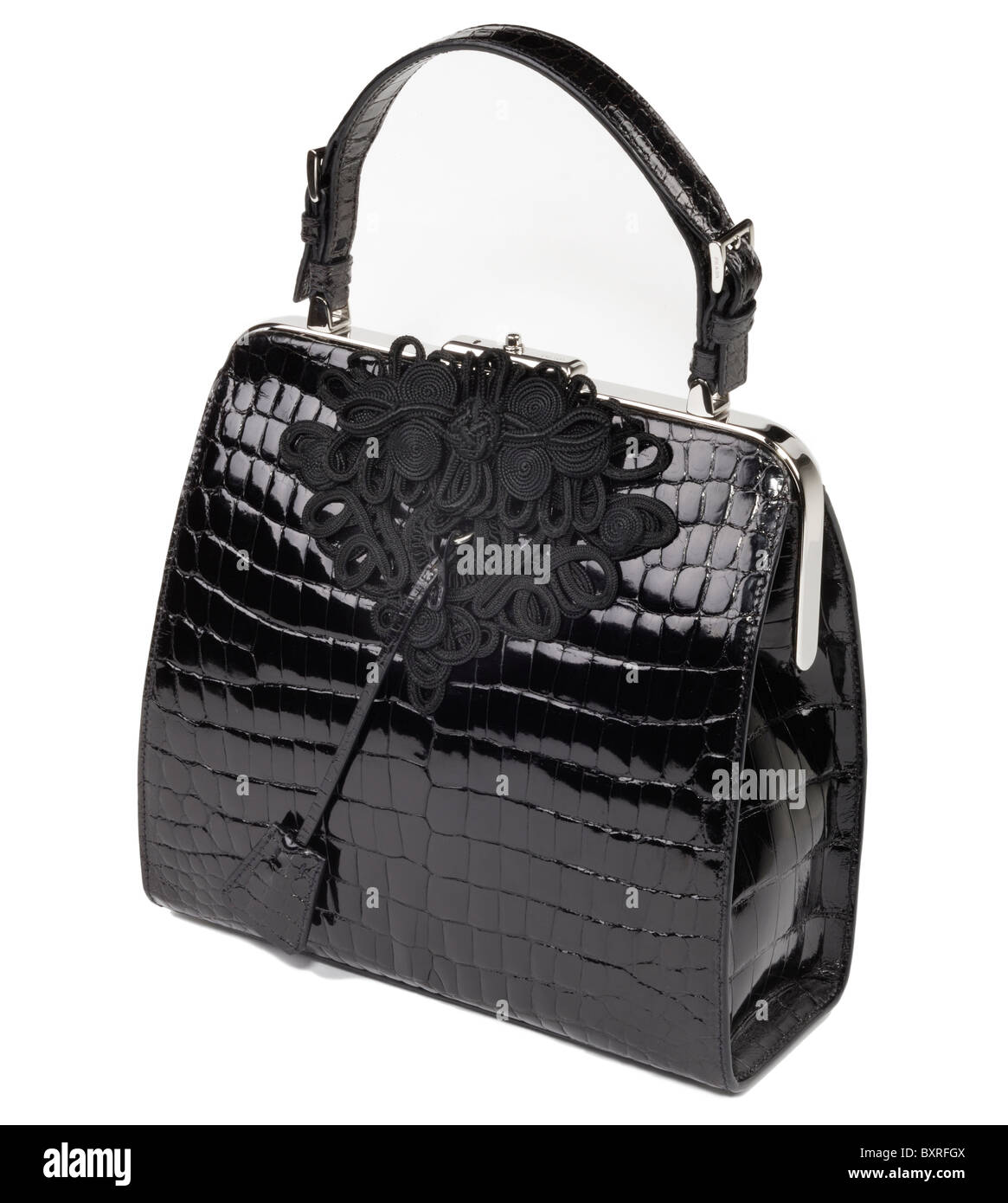 c743202a3ef4 Patent Leather Bag Stock Photos   Patent Leather Bag Stock Images ...