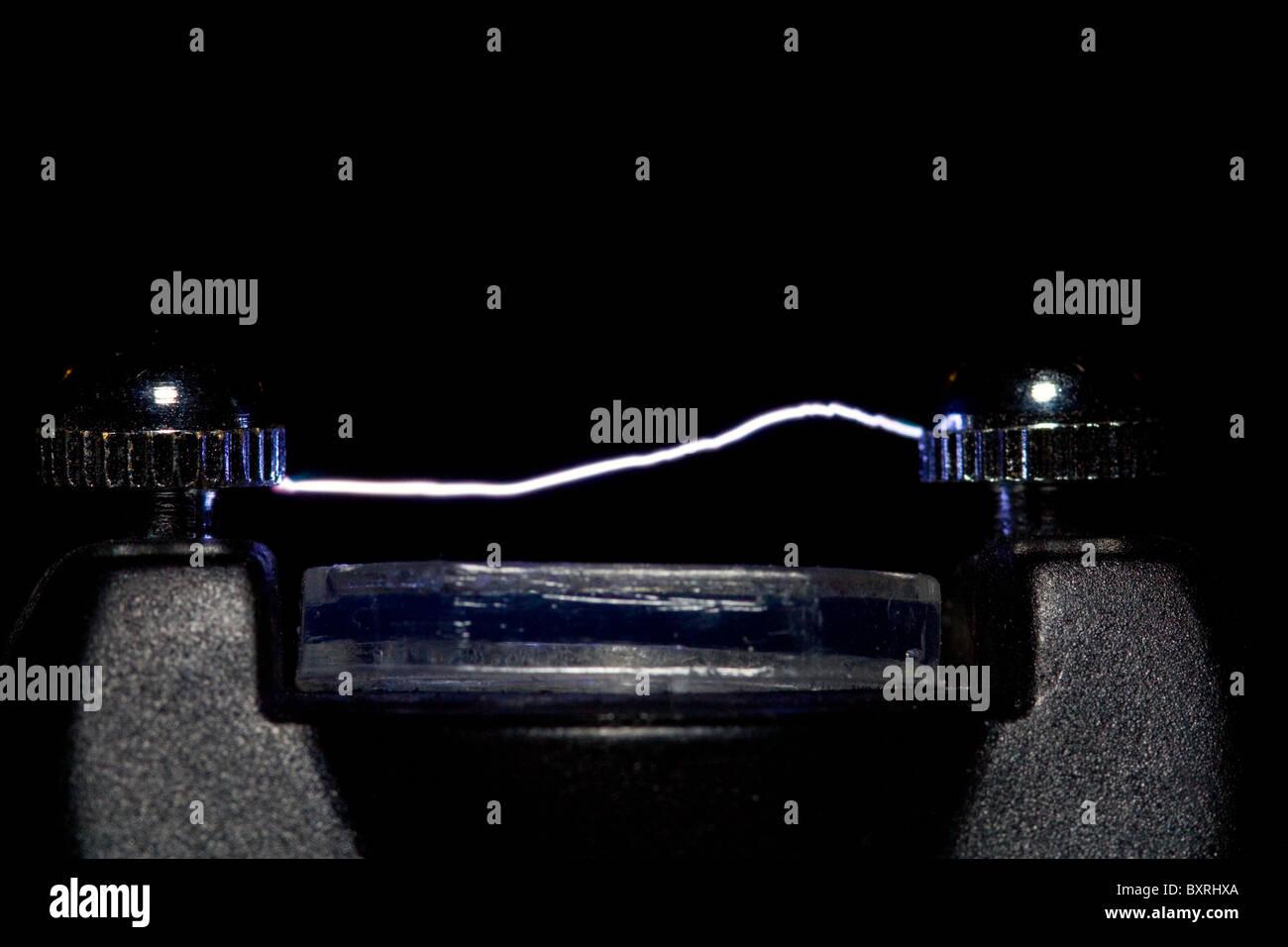Stun Gun And Electricity Stock Photos & Stun Gun And