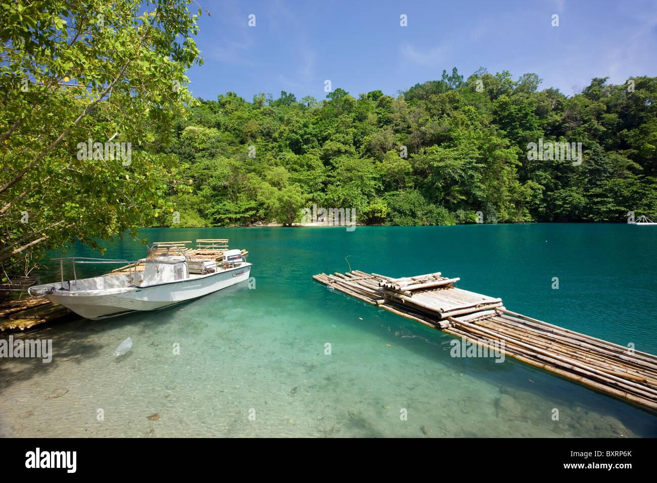 Blue Lagoon Jamaica Stock Photos Blue Lagoon Jamaica Stock