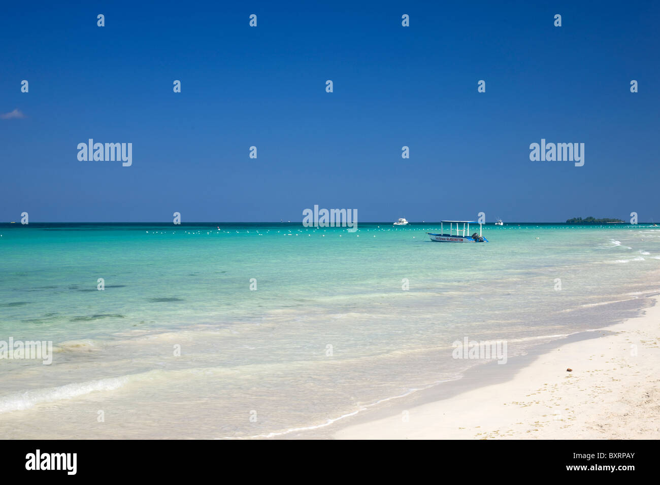 Jamaica, Negril, Seven mile Beach - Stock Image