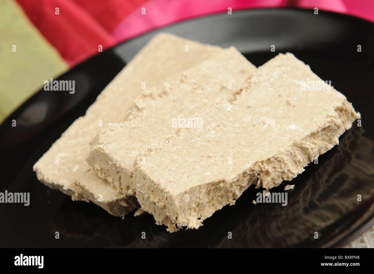 Sunflower Halva - Stock Image