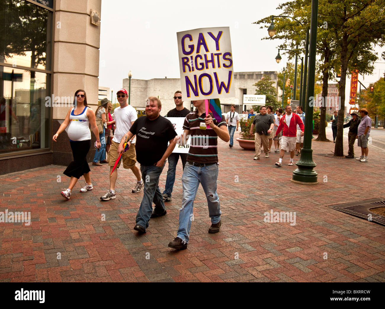 from Kameron gay rights protest