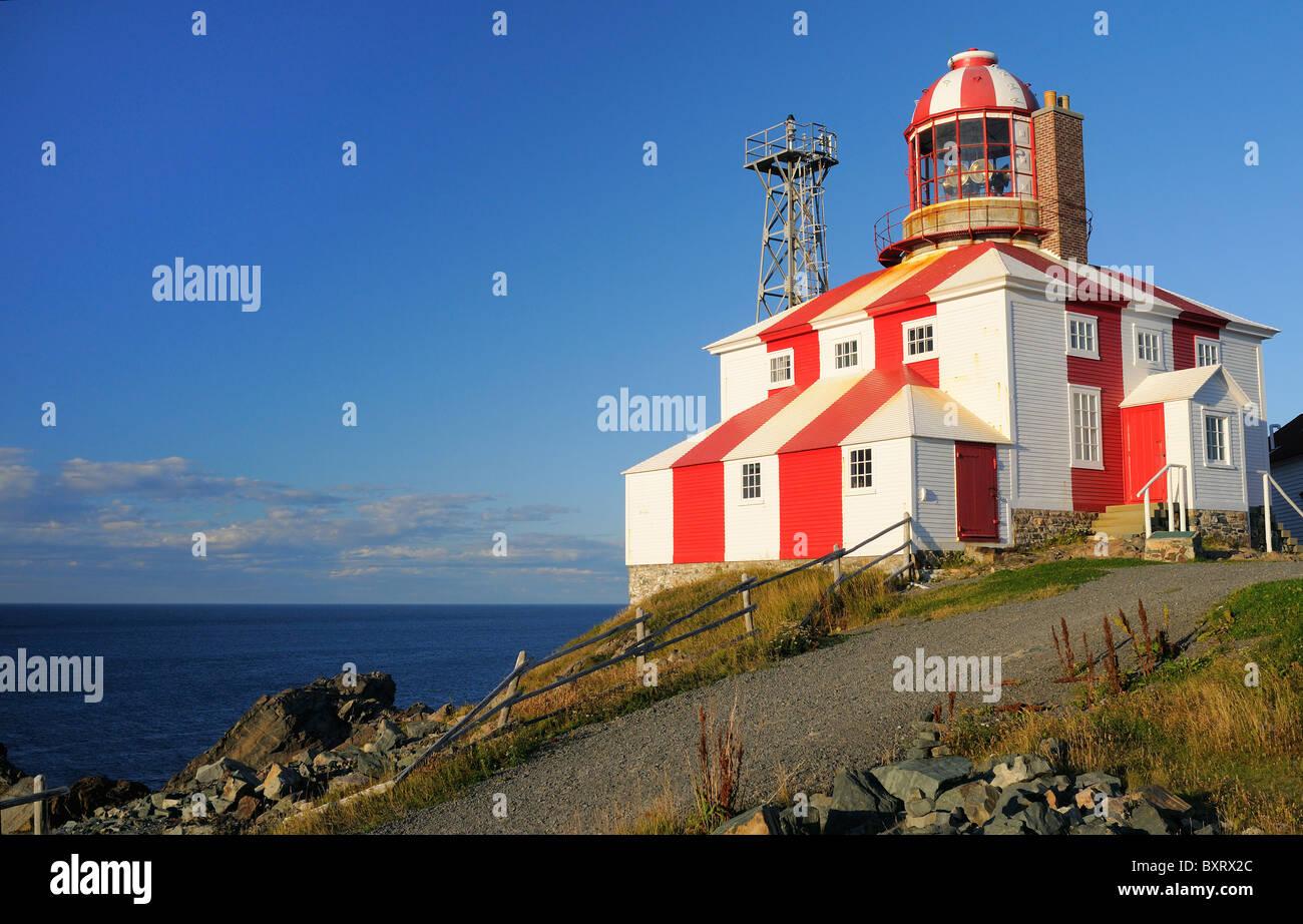 Cape Bonavista Lighthouse Newfoundland - Stock Image