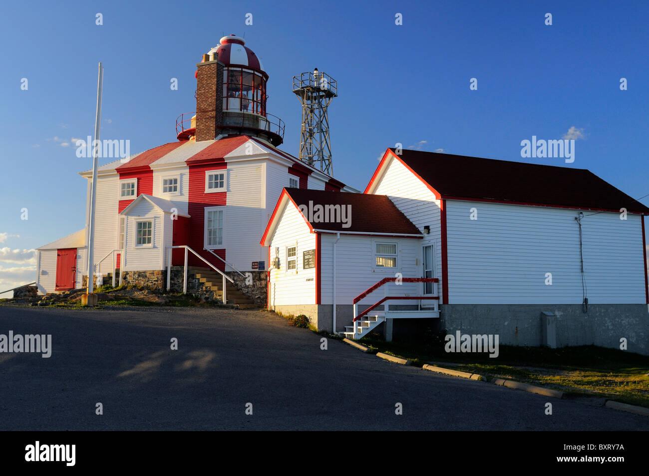 Cape Bonavista Lighthouse - Stock Image