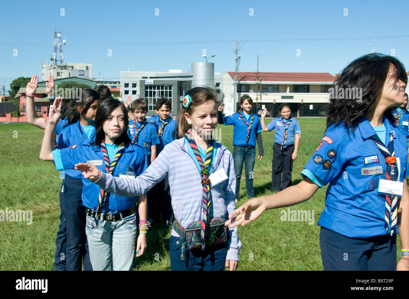 Girl Scouts America Stock Photos & Girl Scouts America Stock Images