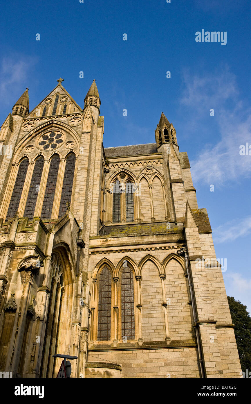 Truro Cathedral in London.  Photograph by Gordon Scammell - Stock Image